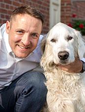Lars Egnelhardt und Hund Bobby